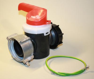 Sotralentz Zylinderhahn DN50 S60x6 EPDM mit EX-Zapfen und Aluüberwurfmutter ( EPDM )