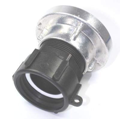 IBC Adapter DN50 S60x6 IG auf Storz 52-C Kupplung