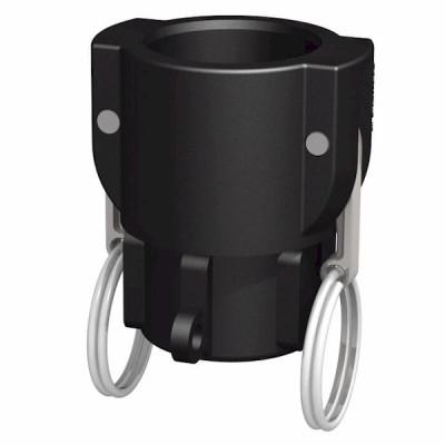 Adapter - 1 Zoll Kamlok Mutterkuppl. auf 1 Zoll BSP Innengewinde