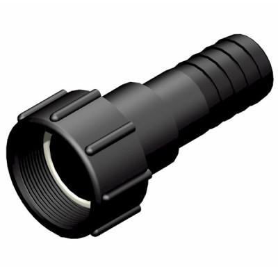 """IBC ADAPTER 360° PP/GF - DN50 NPS IG auf Schlauchtülle 1,5"""" (38mm) - drehbar"""