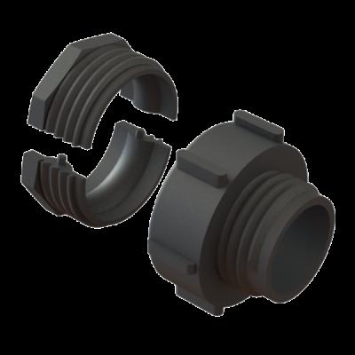 2 Zoll Kamlok Konverter DN50 auf DN50 S60x6 AG standard