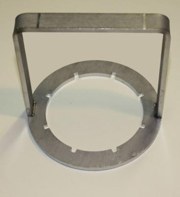 Kappenschlüssel DN80 Edelstahl für IBC Flach-Kappen v. WERIT
