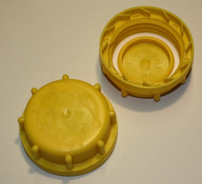 IBC Hahn-Kappe DN50 S60x6 gelb