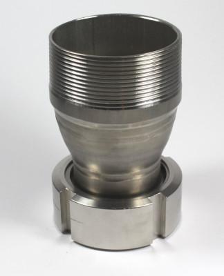 "IBC ADAPTER 360° V4A - DN50 S60x6 IG auf 3"" AG - EPDM - drehbar"