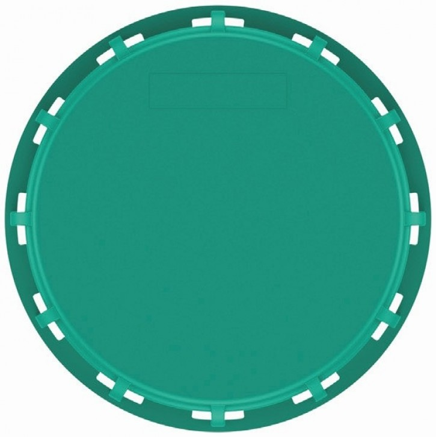 IBC Deckel NW225 - grün - EPDM/FDA