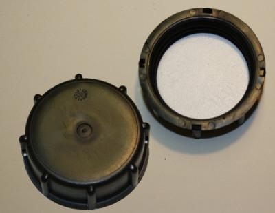 IBC Hahn-Kappe DN50 von SCHÜTZ - S60x6 schwarz