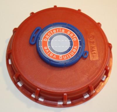 IBC Deckel NW150 - G2-Lüftung+Bakteriensperre + TPE + NBR-Membrane
