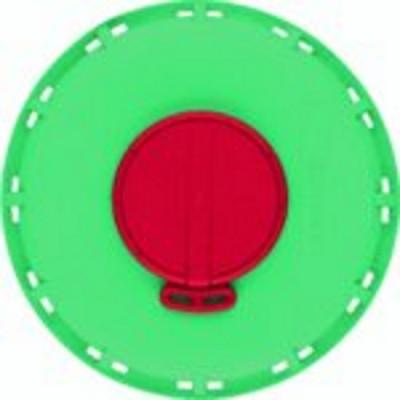 - RESTPOSTEN - IBC Deckel NW150 - grün - G2-Entl.-Vent. - EPDM/FDA