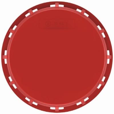 IBC Deckel NW225 - rot - UN - EPDM