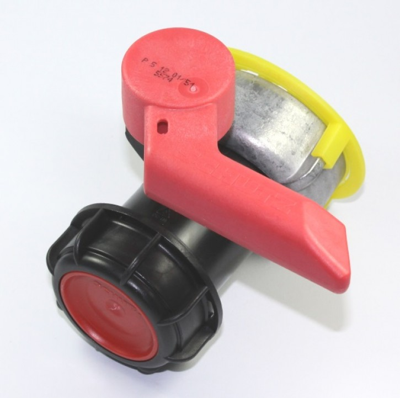 AUSLAUFARTIKEL - SCHÜTZ Klappenhahn DN50 ALU (EPDM) schwarz UV-Schutz