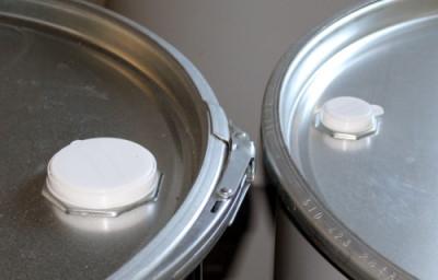 """Fass-Kappe 2"""" aus Kunststoff in weiß"""