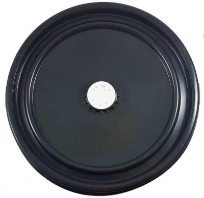 Deckel Ø 445mm mit mittig Spundstopfen 56x4mm - für PE Spannring Deckelf. 120/150 L