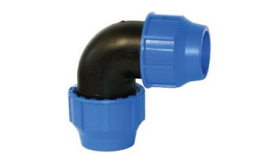 Klemmberbinder - Winkel 90° 20mm x 20mm /PP/NBR
