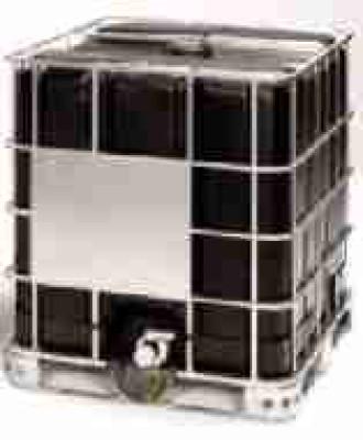 IBC 1000-150/50 - schwarz - Holzpalette - rekonditioniert