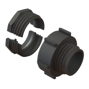 "IBC Adapter S60x6 IG mit 2"" Kamlok Konverter"