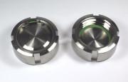 IBC ADAPTER 360° V4A - Blind-Nutmutter DN50 S60x6 IG - EPDM - Satz