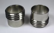 """- IBC Adapter """"STUTZEN"""" V4A - DN50 S60x6 AG auf Schweißende 53x1,5 mm"""