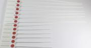PLOMBEN - Durchziehplomben Fast Seal 300 mm - 10 Stück Streifen