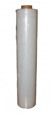 - Rolle Mini-Strechfolie 100mm x 150m transparent