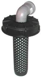 Deckelfilter NW225 auf HT-Bogen DN50 90° (SET)