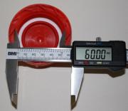 IBC Hahn-Kappe DN50 S60x6 rot