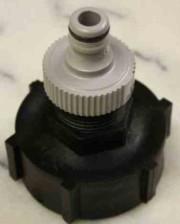 Anschluss-Stutzen DN50 IG mit 1